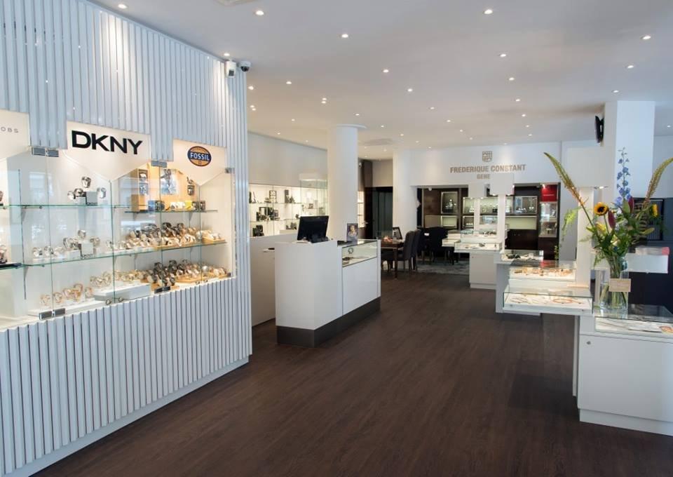 Brunott juweliers rotterdam rotterdam for Interieur winkels